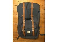Herschel Supple Co. Little America Backpack Navy (RRP £95)