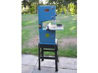 """For Sale - Clarke Woodworker 10"""" Bandsaw in Very Good Condition - like new - very little use."""