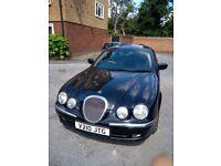 Jaguar S Type black 3 litre