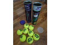 8 NEW Slazenger Wimbledon Tennis Balls