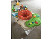 Fisher price baby activity stand up centre