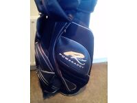 Powakaddy golf bag,large cart bag in excellent condition