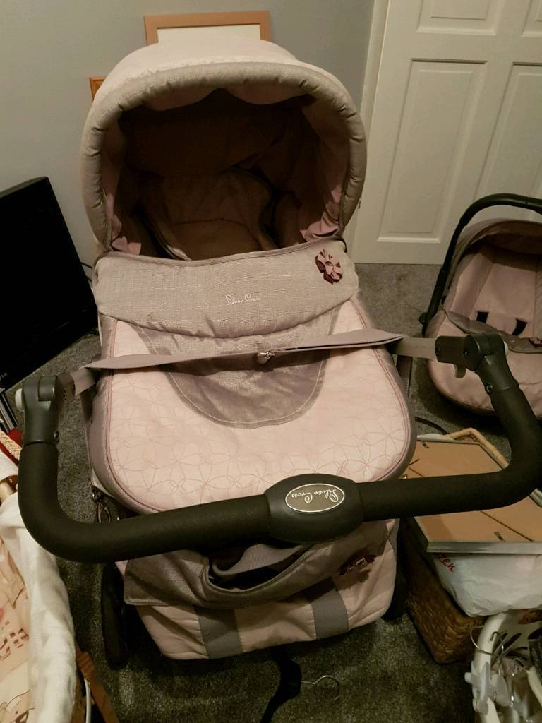 Silver Cross Sugared Almond Pram Pushchair Combination