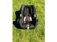 Maxi-Cosi Cabrio birth - 13kg car seat. Raven Black