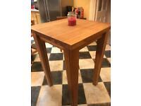 Breakfast bar solid oak