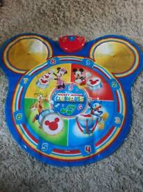 Mickey mouse dance and play mat.