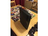 Sony Play Station 3 + 2x Controllers + 14 Games