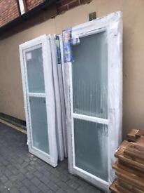 Upvc external doors