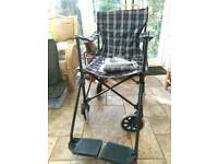 Transporter wheelchair