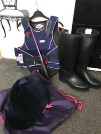 Girls horse ride kit