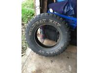 215/75/15 Offroad mud/snow tyres