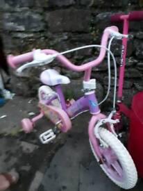"""Girls bike 12-14"""" I think"""