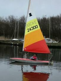 Topper Sailing Dinghy North Norfolk