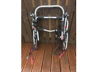 3Bike carrier for hatchback vehicle