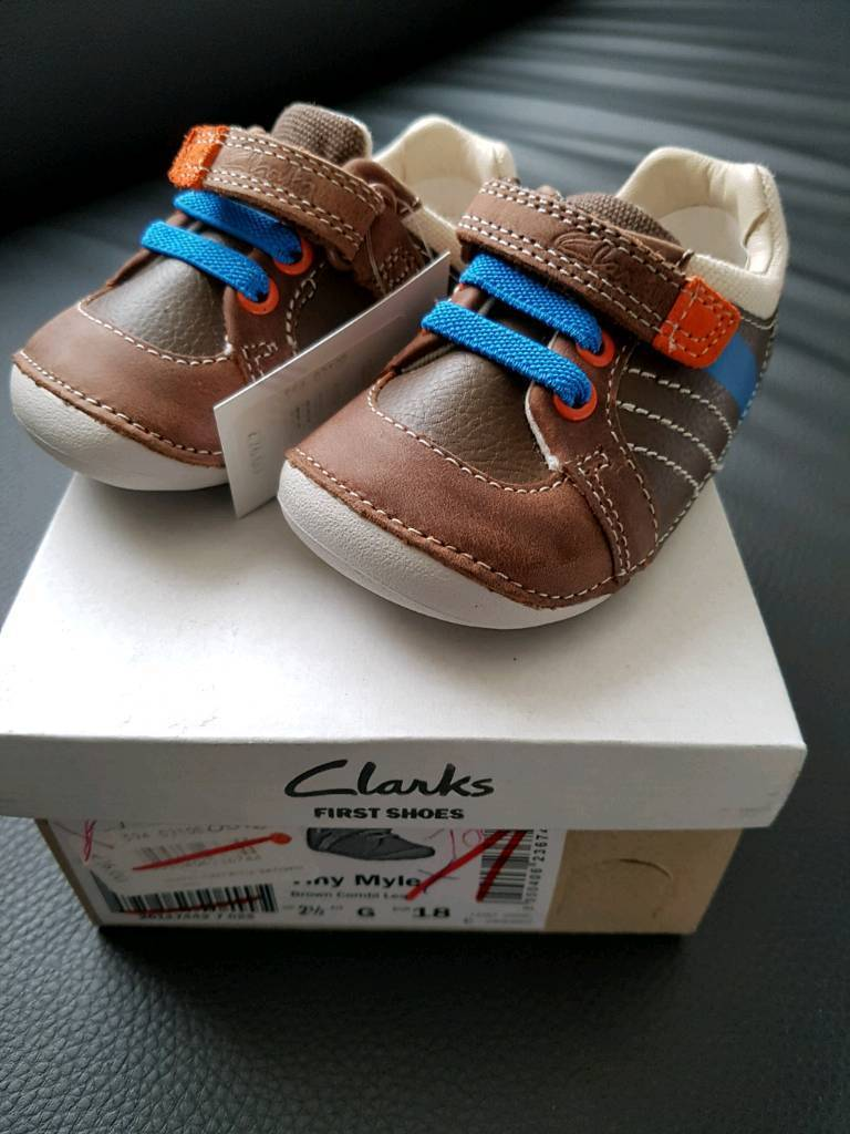 Brand new Clarks children shoes