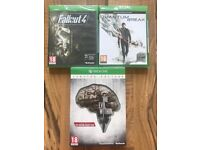xbox one games , brand new & sealed , £10 each ! price stands , no offers .....