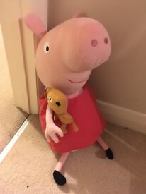 Peppa Pig TY Huge Soft Toy 20 Inches Tall