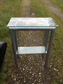 Computer Table, Laptop Desk Dressing Table Glass topped x 4