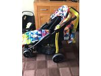 Coast to busy pushchair