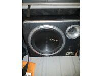 Vibe black air 1600w sub