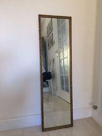 Golden Frame Mirror