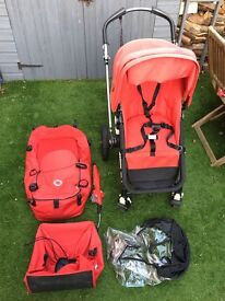Red Bugaboo Cameleon Buggy