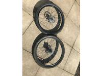 MTB wheels,DH ,HALO £25 each or £40 pair