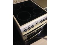 White Electric Ceramic cooker 50cm...Cheap free delivery