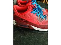 Nike air max bright red