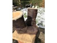 Leather Ugg Boots size 6.5