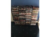 Over 200 dvds