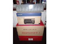 Denon RCD-M40DAB Wharfedale Diamond 9.1 B-tech stands plus extras