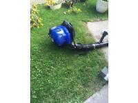 Petrol backpack leaf blower