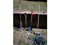 Garden tools for quick sale