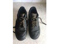 Men's Nike Air Force 1 Size 9dark green