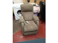 pride electric riser and recliner armchair