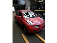 NISSAN MICRA 5DR 1.4 PETROL BREAKING 2005 FOR SPARES 1X WHEEL NUT
