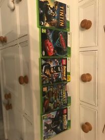 Xbox360 games x 5