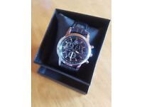 Yazole 271 Gents Watch. Good Fathers Day Gift with Giftbox
