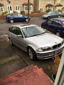 BMW 330d automatic estate, full leathers very comfortable and good mpg