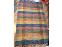 Colourful Woven Rug 44'' x 69''