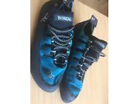 BOREAl joker rock climbing shoes size 10.5 used twice £25