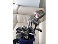 Graphite Callaway Golf Club Set including Irons, Wedges & Putter with bag. RRP £927