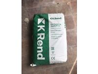 K Rend Base Coat Grey - 17 bags - HALF PRICE - COLLECTION ONLY