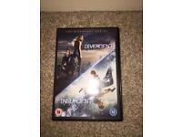 Divergent and Insurgent DVD