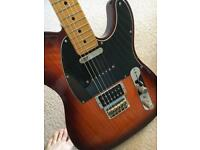 Fender modern player telecaster with hardcase