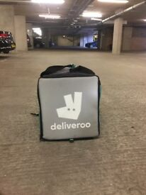 Delivroo backpack quick sale for £40