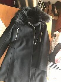 Black Zara Jacket Size 8