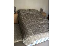 Free double bed to collect