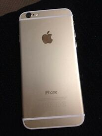 iPhone 6 in gold in ex con